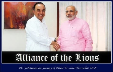 Dr.Subramanian Swamy & Prime Minister Narendra Modi