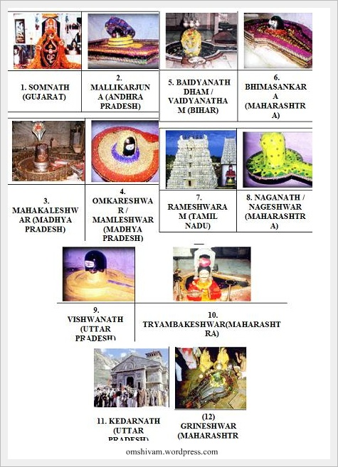 12 Jyotirlinga Tour http://serbagunamarine.com/12-jyotirlingas-in-india.html