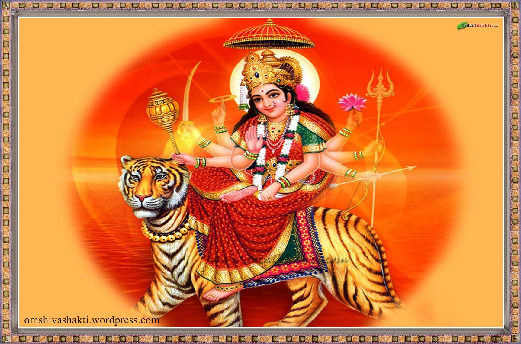Great Wallpaper Lord Bhadrakali - durga-mata  Image_569312.jpg