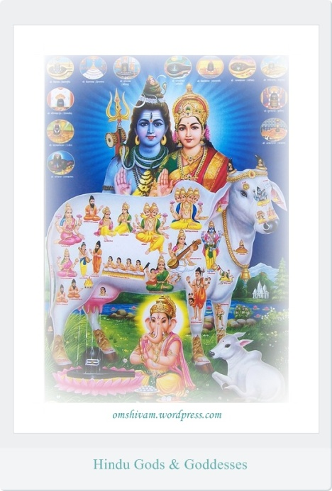 hindu gods and goddessses @ omshivam.wordpress.com